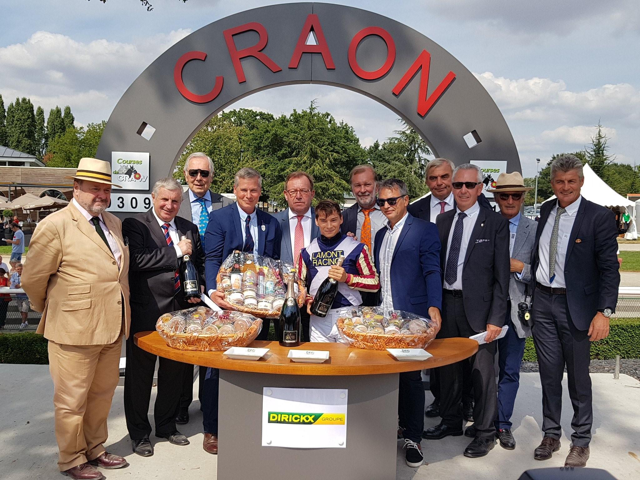 Maifalki winning a Listed Race in Craon France